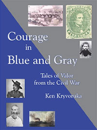 Courage in Blue and Gray